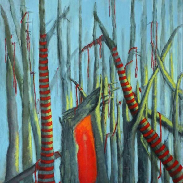 Der deutsche Wald - 2020-46 - 100-70 -Acryl