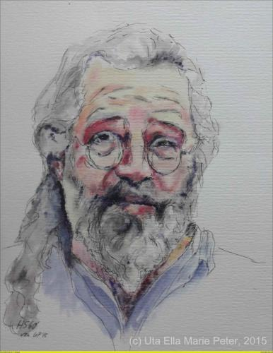 Harry. S - Aquarell - 2015 - 40x30 cm