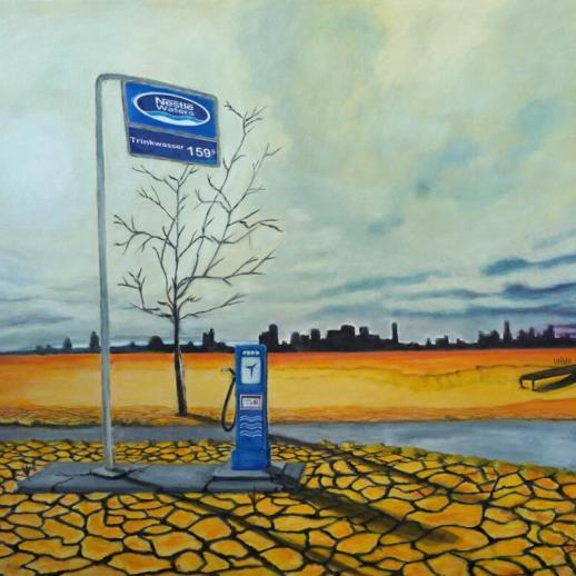 Nestle Waters - 2021-24 - 80-120 cm - Acryl